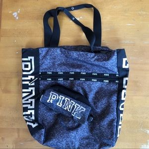 VS PINK Tote Bag with Pouch